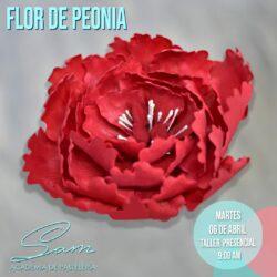 MARTES 13 DE ABRIL DE 2021 - 8:00 AM : Proyecto Flor en Pasta de Goma y Fondant Bordes Perfectos – Taller Presencial
